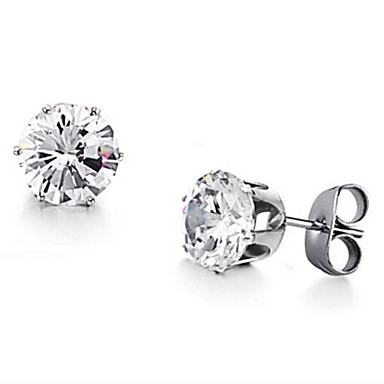 Women's Stud Earrings Fashion Zircon Cubic Zirconia Alloy Jewelry