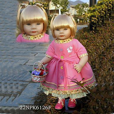 Lebensechte Puppe Baby 22Zoll Silikon / Vinyl - lebensecht Mädchen Kinder Geschenk