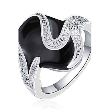 Dames Statement Ring - Modieus Schermkleur Ring Voor Feest