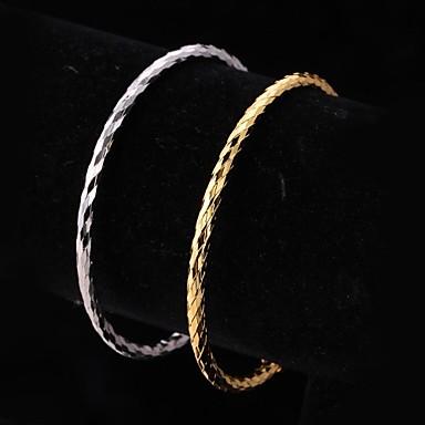Dames Cuff armbanden Platina Verguld Verguld Legering Sieraden Bruiloft Feest Dagelijks Causaal Sport Kostuum juwelen