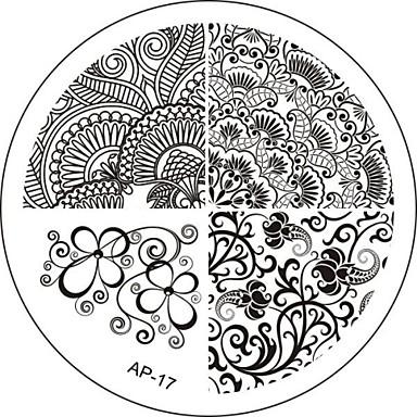 Absztrakt - Fém - 6x6 - 1 - Ujj/Toe/Más