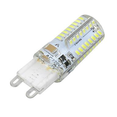 billige Elpærer-YWXLIGHT® 1pc 3 W LED-kornpærer 300 lm G9 T 64 LED perler SMD 3014 Mulighet for demping Varm hvit Kjølig hvit 220-240 V / RoHs