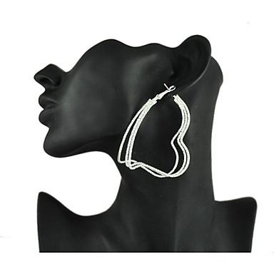 Boucle d'oreille large - en Alliage - pour Femme