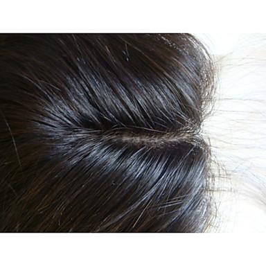 Przedłużanie włosów - Kobieta - Prosto - Human Hair - Brązowy
