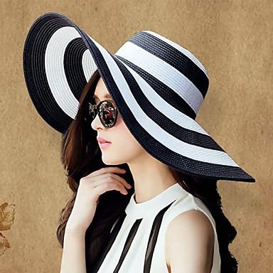 Basketwork Hats Headpiece Wedding Party Elegant Feminine Style