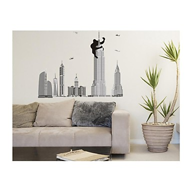 muurstickers muur stickers, stijl king kong pvc muurstickers
