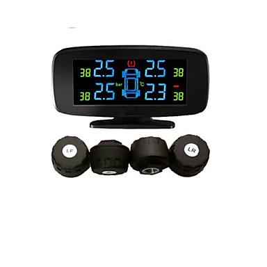 Tyre Pressyre Monitoring System with 4 External Sensors,PSI/BAR,Diagnostic Tools, TPMS PSI,Car TPMS