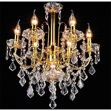 Chandelier Ambient Light - Crystal LED, Traditional / Classic, 110-120V 220-240V, Warm White White, Bulb Not Included