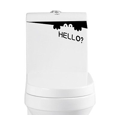 Animaux Mots& Citations Stickers muraux Autocollants avion Autocollants muraux décoratifs Autocollants toilettes, Vinyle Décoration