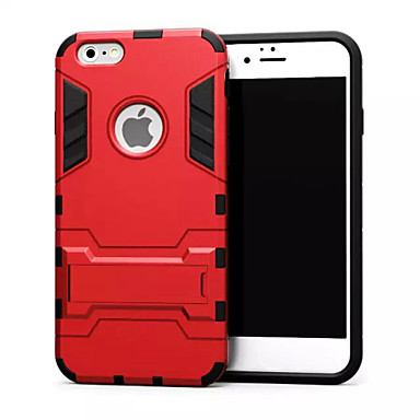 Mert iPhone 6 tok / iPhone 6 Plus tok Ütésálló / Állvánnyal Case Hátlap Case Páncél Kemény Fém iPhone 6s Plus/6 Plus / iPhone 6s/6