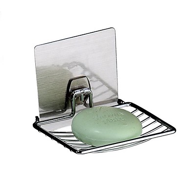 Soap Dish Contemporary 211# Stainless Steel 9.2cm 13cm Soap Dishes