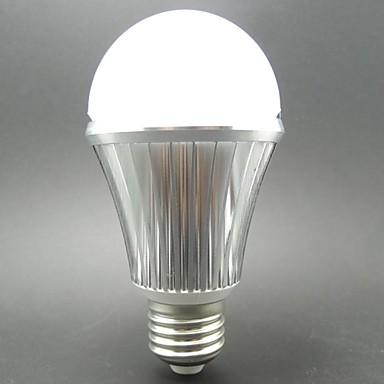 6W E26/E27 LED-bollampen / Slimme LED-lampen G60 10 SMD 5730 460LM lm Koel wit Sensor AC 85-265 / AC 100-240 V 1 stuks