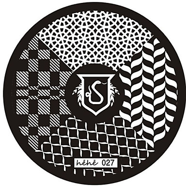 Nail Art Stamp Stamping Image Template Plate hehe Series NO.27