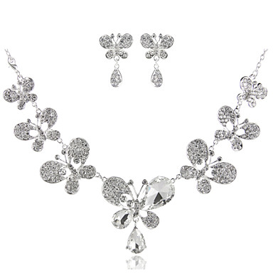 Women's Choker Necklace - Imitation Diamond Basic, Fashion Silver Necklace Jewelry For Wedding, Party, Birthday / Engagement