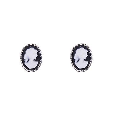 Earring Stud Earrings Jewelry Women Wedding / Party / Daily / Casual / Sports Alloy / Resin 2pcs
