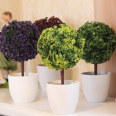 Une succursale Plastique Plantes Fleur de Table Fleurs artificielles 26 x 13 x 13(10.24'' x 5.12'' x 5.12'')