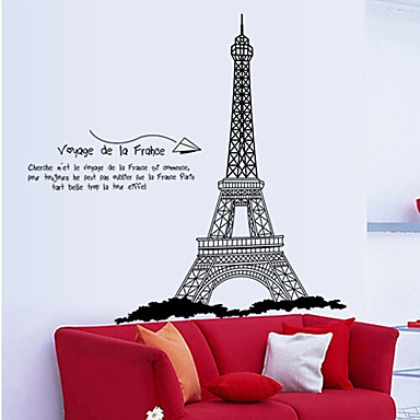 Decorative Wall Stickers - Plane Wall Stickers Abstract / Landscape / People Living Room / Bedroom / Dining Room