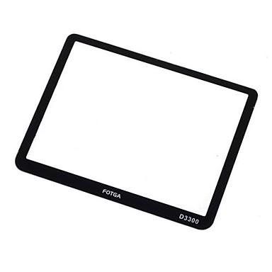 fotga® optisch glas stijve lcd screen protector voor nikon d3300 dslr