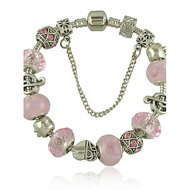 Nouveau bracelet en doigt pour femmes avec talon de sécurité en cristal rose cadeaux pour filles