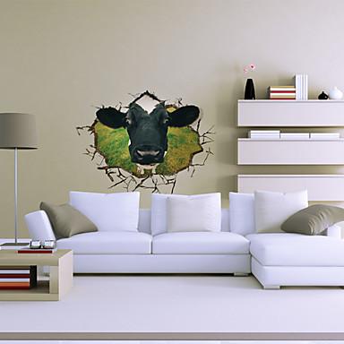 3D 벽 스티커 3D 월 스티커 데코레이티브 월 스티커, 비닐 홈 장식 벽 데칼 벽