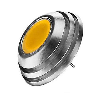 2W 120-150lm G4 LED Spotlight 1LED LED Beads COB Warm White / Cold White 12V / 1 pc / RoHS / CCC