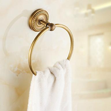 타월 걸이 앤티크 놋쇠 1개 - 호텔 목욕 수건 반지