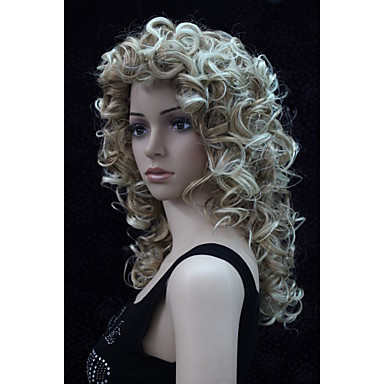 Synthetic Wig Curly Women's Capless Carnival Wig Halloween Wig Synthetic Hair