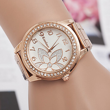 Women's Quartz Wrist Watch Casual Watch Alloy Band Charm / Fashion Silver / Rose Gold