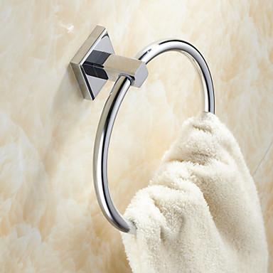 Towel Ring / Chrome Brass /Contemporary