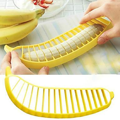 창조적 인 바나나 슬라이서 (색상 랜덤)