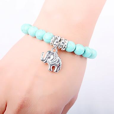 Femme Charmes pour Bracelets Bracelets de rive Original Mode Turquoise Alliage Autres Bijoux Mariage Soirée Quotidien Décontracté Sports