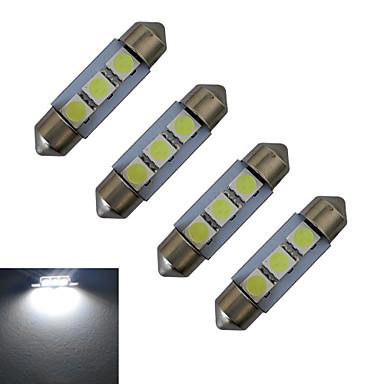 60 lm Фестон Декоративное освещение 3 светодиоды SMD 5050 Холодный белый DC 12V