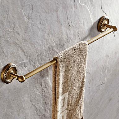 Handtuchhalter Antike Messing 1 Stück - Hotelbad 1-Handtuchstange