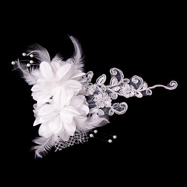 Kristal Kumaş Saten - Tiaras Çiçekler 1 Düğün Özel Anlar Parti / Gece Başlık
