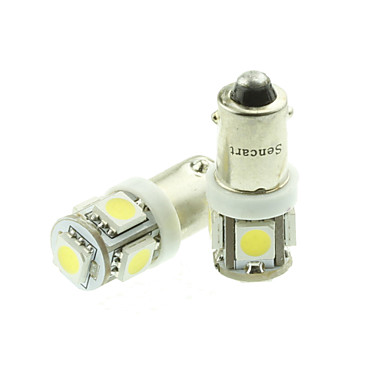 SO.K 1 Deler H6 / BA × 9S Bil Elpærer 18 W SMD 5050 / Høypresterende LED 70-90 lm 5 LED Blinklys For Universell