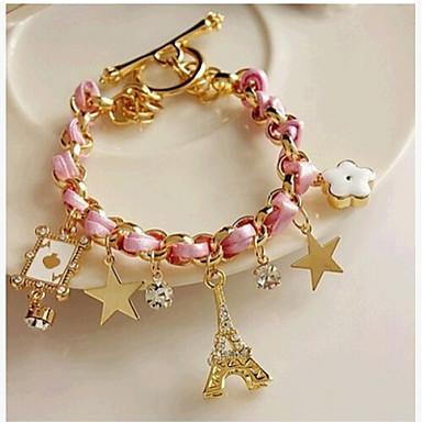 Lucky Star Women's Elegant Rhinestone Tassel Bracelet Elegant Style