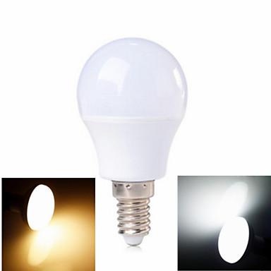 abordables Ampoules électriques-3 W Ampoules Globe LED 100-200 lm E14 6 Perles LED SMD 2835 Blanc Chaud Blanc Froid 220-240 V / 1 pièce / RoHs / CCC