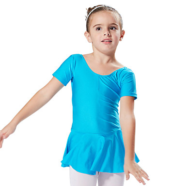 Μπαλέτο Φορέματα Φορέματα&Φούστες Τούτους & Φούστες Εκπαίδευση Επίδοση Spandex Κοντομάνικο Πριγκίπισσα Φόρεμα