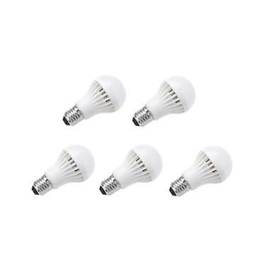 3000-3500lm E26 / E27 LED Globe Bulbs A60(A19) 18 LED Beads SMD 2835 Warm White / Cold White 220-240V