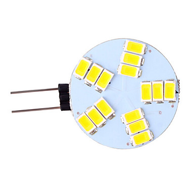 3W G4 LED à Double Broches 15 diodes électroluminescentes SMD 5730 Blanc Chaud Blanc Froid 350lm 2800-3500/6000-6500K AC 12V