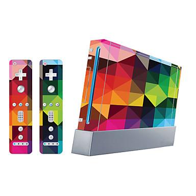 B-SKIN Klistremerke Til Wii U / Wii ,  Originale Klistremerke PVC 1 pcs enhet