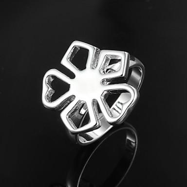 Vintage / Bájos / Party / Munkahelyi / AlkalmiKarikagyűrű(Sterling ezüst