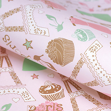 prachtige gift gift box verpakking papier / inpakpapier