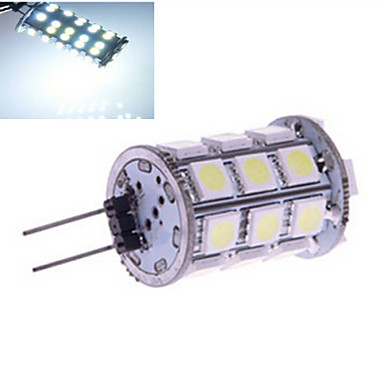 G4 LED Bi-pin Lights 27 SMD 5050 230 lm Warm White Cold White 2800-3500/6000-6500 K DC 12 V