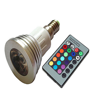 1.5W 100-150 lm E14 LED Spotlight leds High Power LED Dimmable AC 220-240V