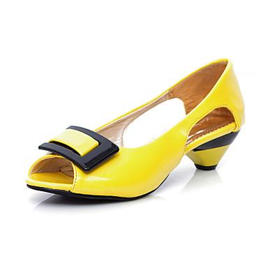 Sandaalit / Avokkaat - Piikkikorko - Naisten kengät - Tekonahka - Musta / Sininen / Keltainen / Vihreä / Pinkki / Valkoinen -Ulkoilu /