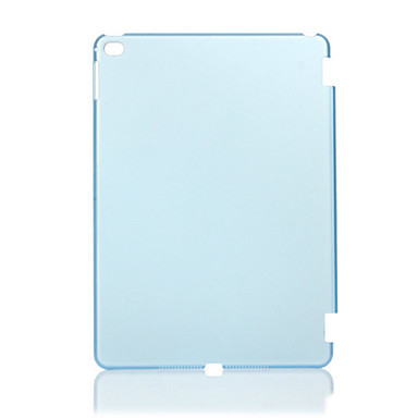 Case For iPad Air 2 Transparent Back Cover Solid Color PC for iPad Air 2