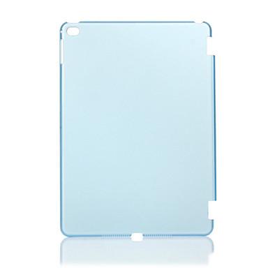 Case Kompatibilitás iPad Air 2 Átlátszó Fekete tok Tömör szín PC mert iPad Air 2