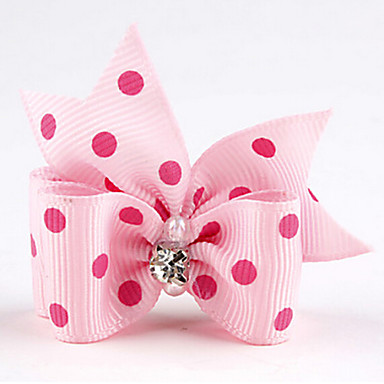 Cat Dog Hair Accessories Hair Bow Dog Clothes Wedding Red Green Blue Pink Dark Purple Costume For Pets