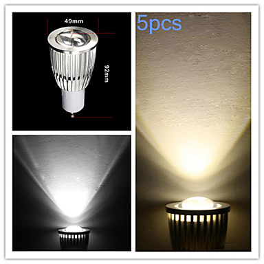 GU10 LED Spotlight MR16 COB 700-750 lm Warm White Cold White K Dimmable AC 220-240 AC 110-130 V
